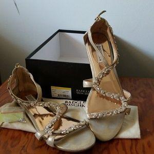 Badgley Mischka sandals size 7.5